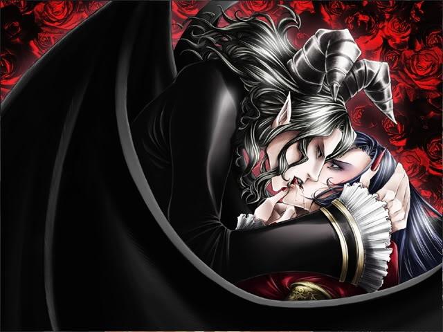 Mephistopheles právě ukazuje Georikovi, že yaoi je dobro.
