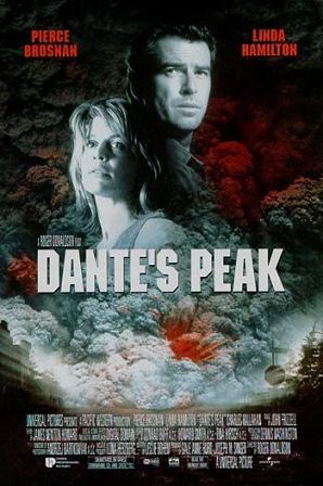 Dantes Peak s Pierce Brosnanem