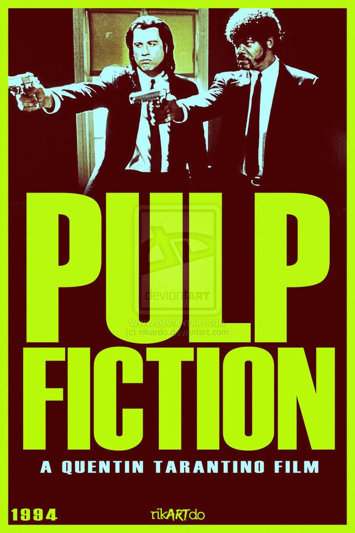 Pulp Fiction poster by riikardo