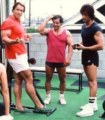 Arnold Schwarzenegger / Sylvester Stallone