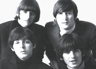 John, George, Paul a Ringo