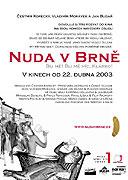Poster k filmu Nuda v Brně
