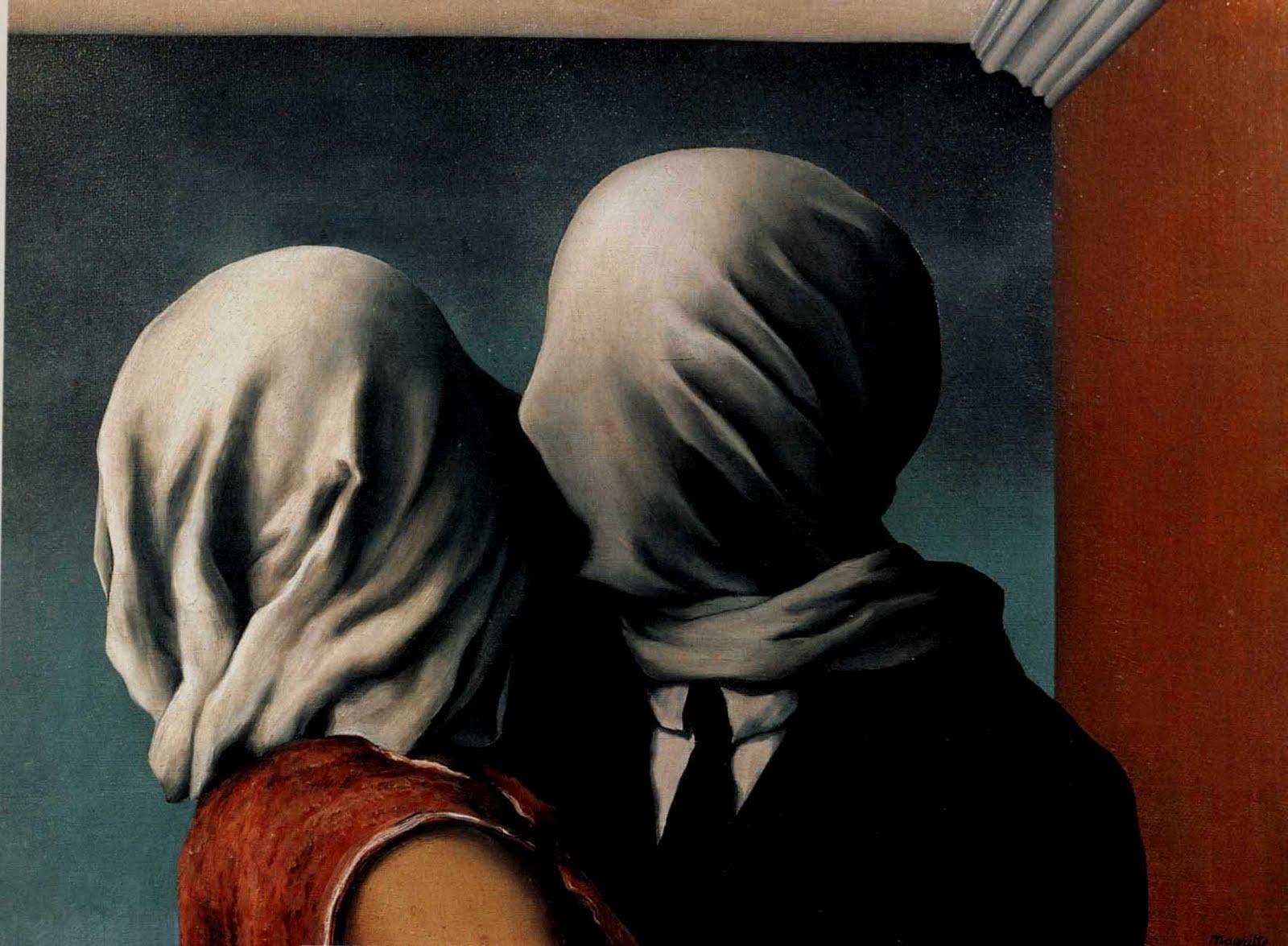 René Magritte - The Kiss