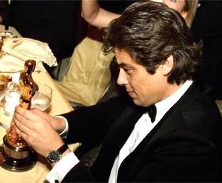 With my Oscar