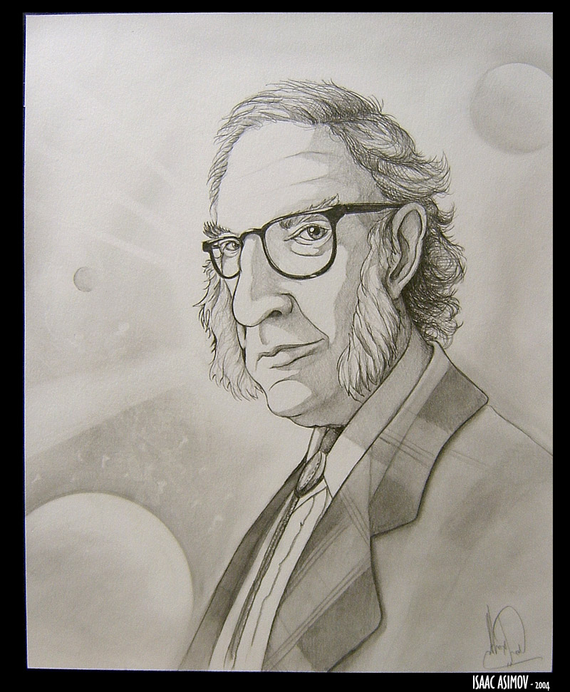 Isaac_Asimov___Caricature_by_AlexanderLe