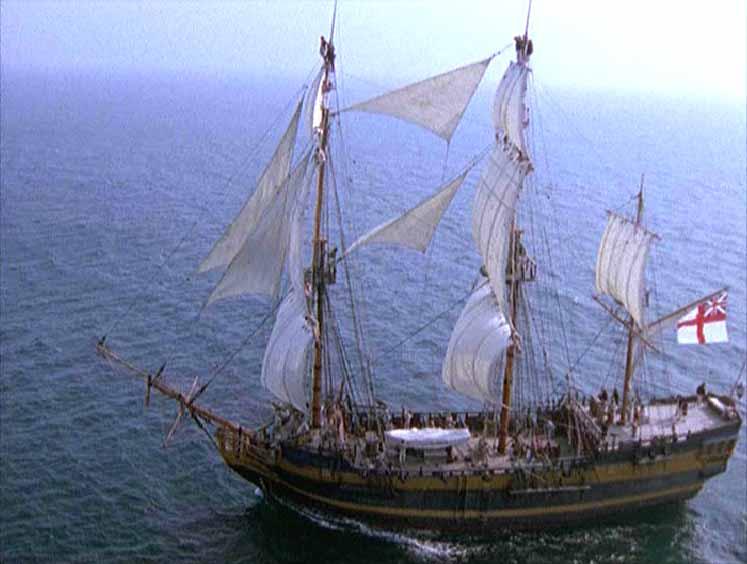 HMS Indefatigable, Hornblower