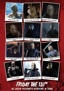 Friday 13th All Jason Voorhees' Versions In Films