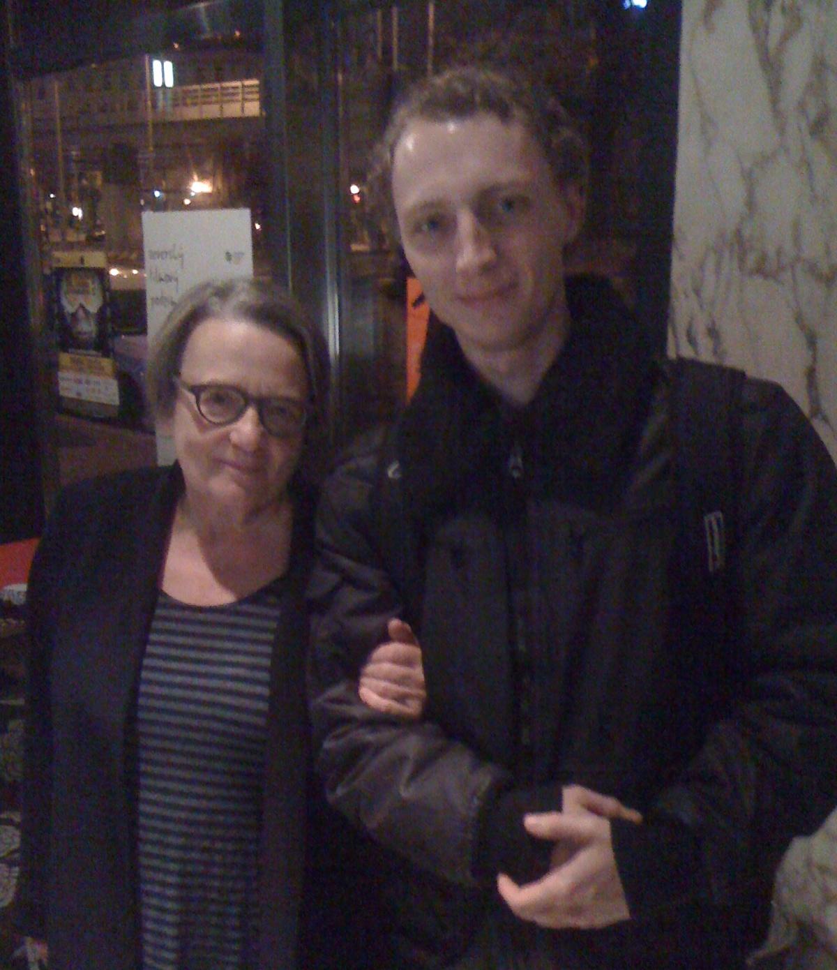 Já a Agnieszka Holland