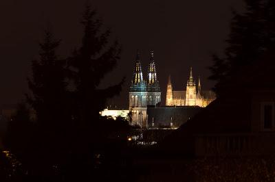 Na jedné přímce s pražskými kostely