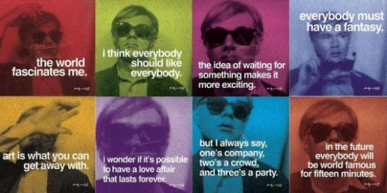 Warhol's ideas