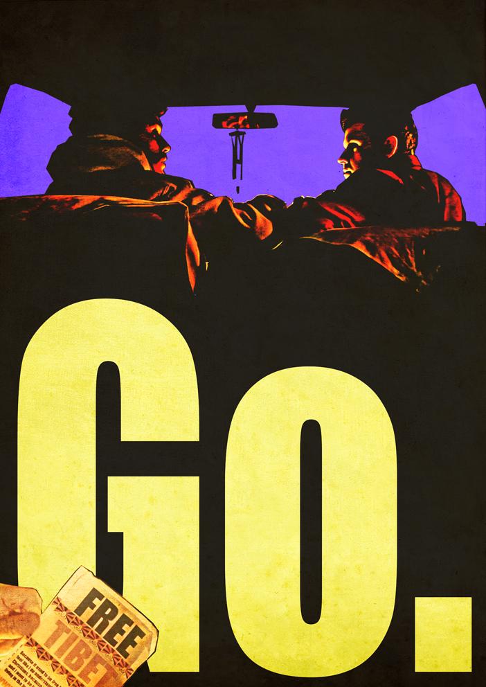 Go. Plakát