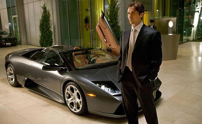 Lamborghini Murciélago Spyder & Christian Bale