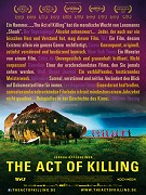 Poster k filmu       Act of Killing, The