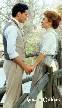 Anne Shirley a Gilbert Blythe /Megan Follows a Jonathan Crombie/ Anne of Green Gables
