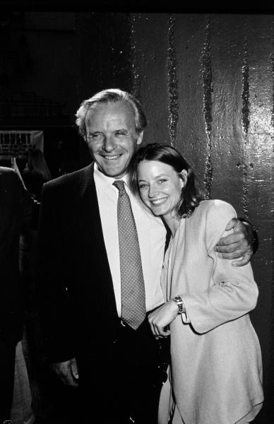 Anthony Hopkins & Jodie Foster