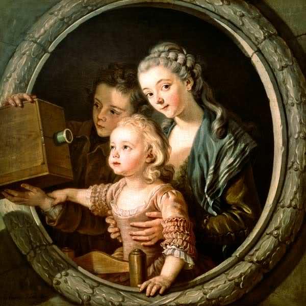 Charles Amédée Philippe van Loo - The Laterna Magica