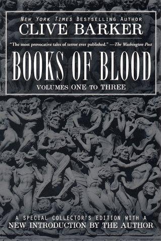 Books of Blood - Clive Barker