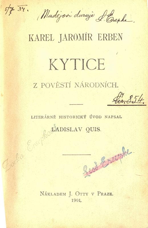 Kytice - K.J.Erben