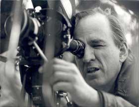 Bergman benihd the camera