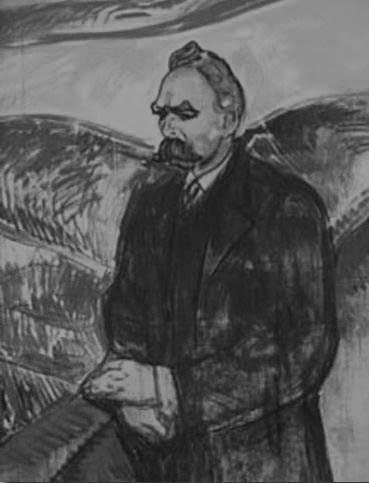 Nietzsche_Munch_bw