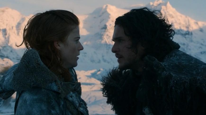 Sníh a Ohněm políbená