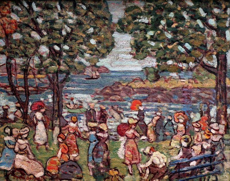 Maurice Prendergast - Salem Cove (1916)