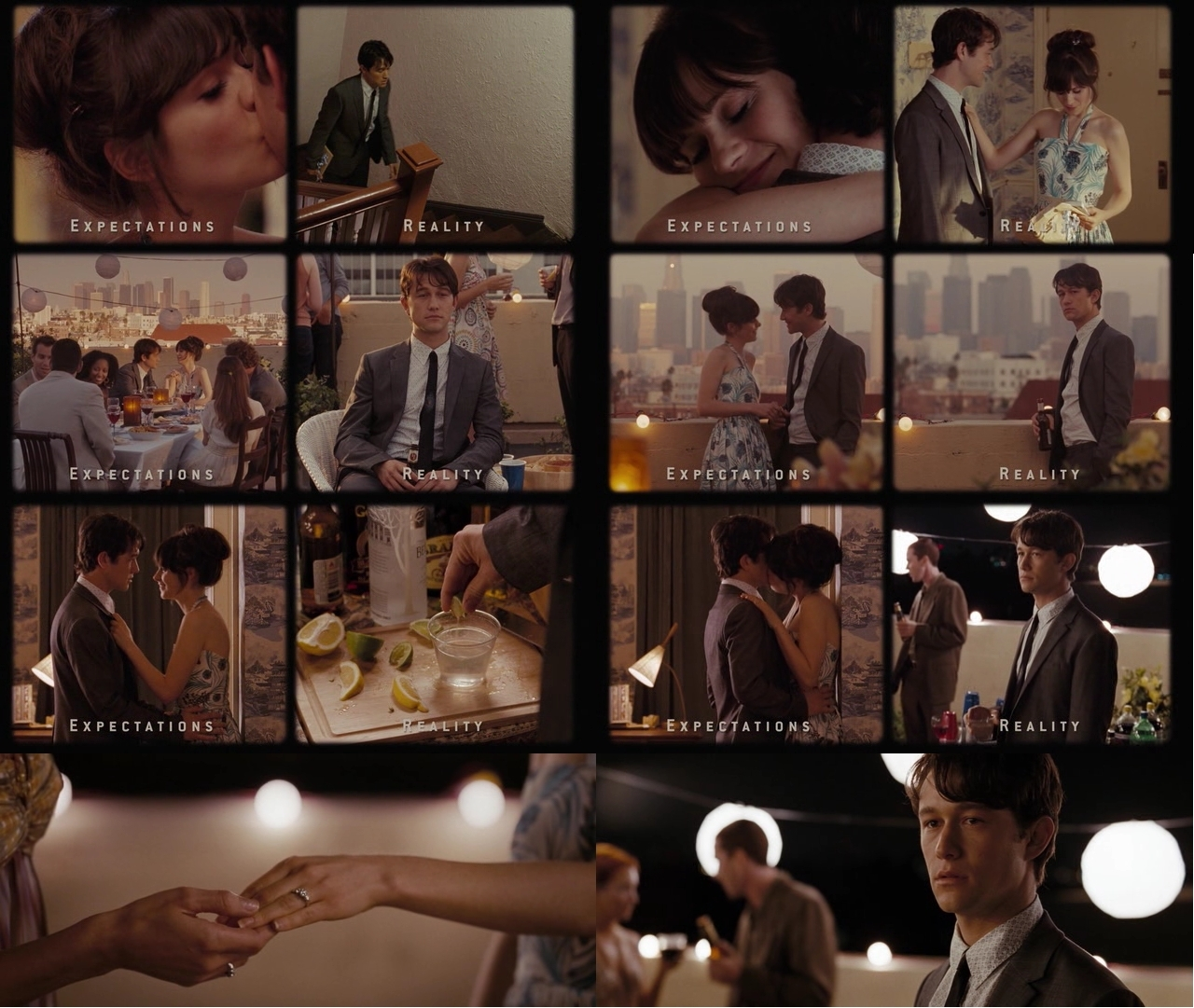 500 days of Summer - expectations x reality