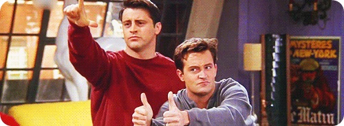Joey Tribiani, Chandler Bing