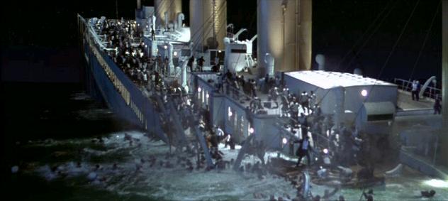 KOLOSÁLNÍ VIZUÁLNÍ EFEKTY (např. Titanic)