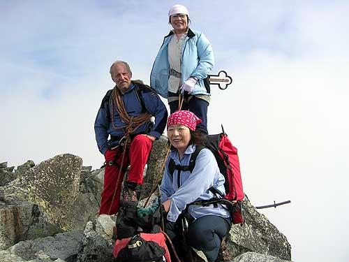 Výstup Jungo Tabei, prvá žena, ktorý vyliezla na Everest.
