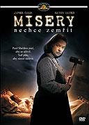 Poster k filmu Misery nechce zemřít