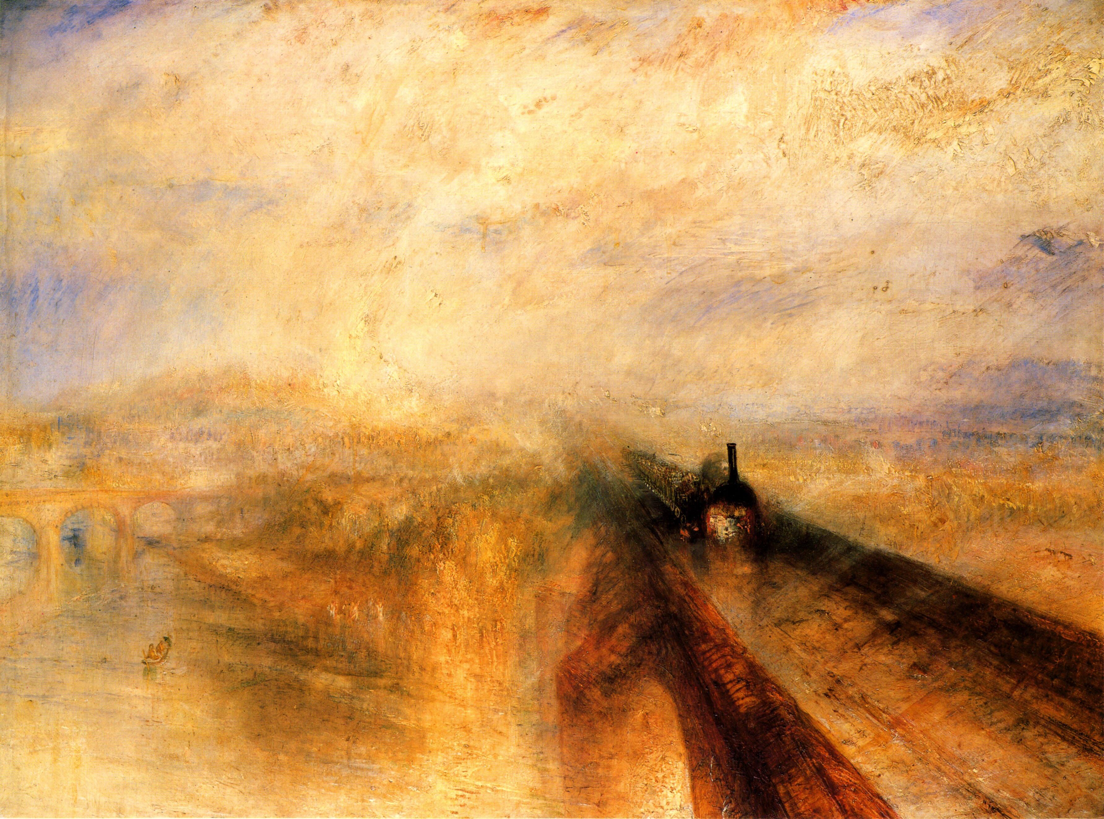William Turner - Rain, steam and speed