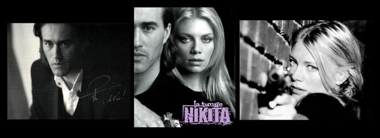 směska obrázků k seriálu Brutální Nikita