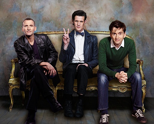 9th, 10th, 11th Doctor - Doctor Who