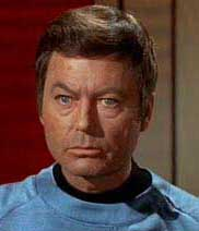McCoy is always serious!