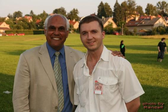 with Trevor Jones