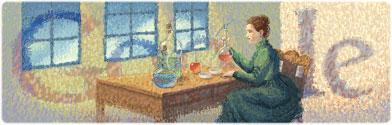 144. výročí narození Marie Curie