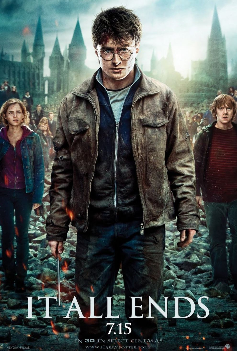 Harry Potter and the Deathly Hallows: Part II.