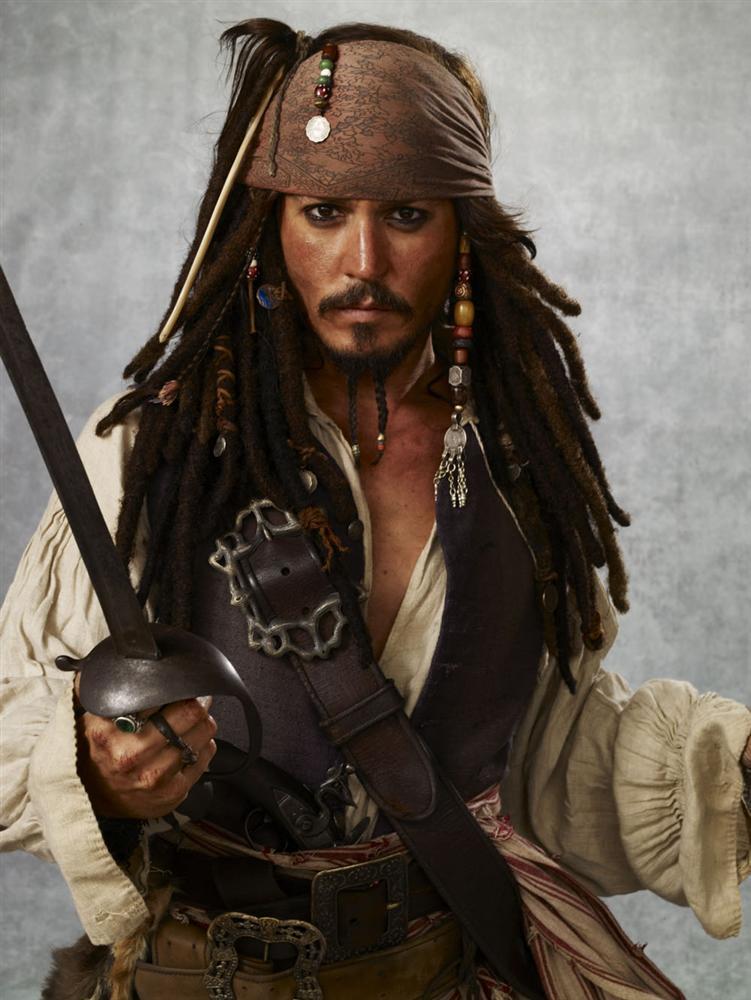 Jack Sparrow - Pirati z Karibiku