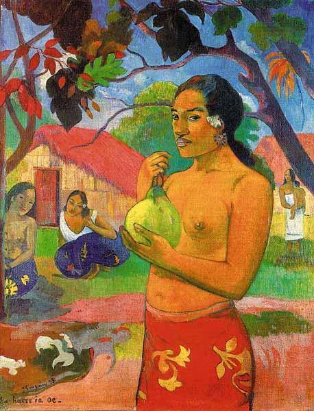 Paul Gauguin - Femme Fruit