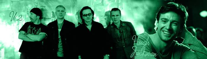 U2 & Hugh Jackman