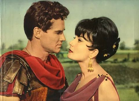 Steve Reeves & Gianna Maria Canale