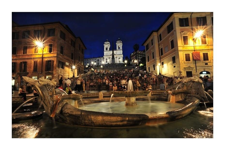 Španielske schody-Rím