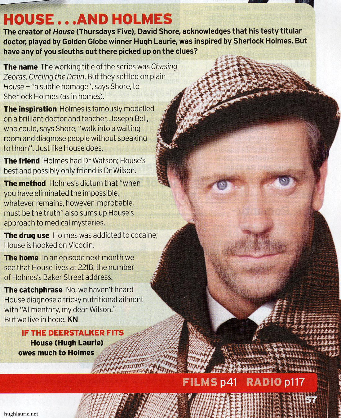 House and Holmes