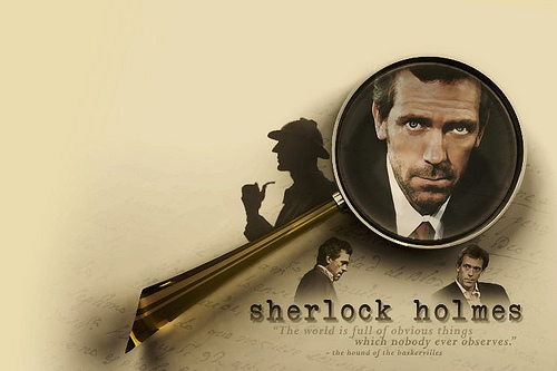 House as Holmes