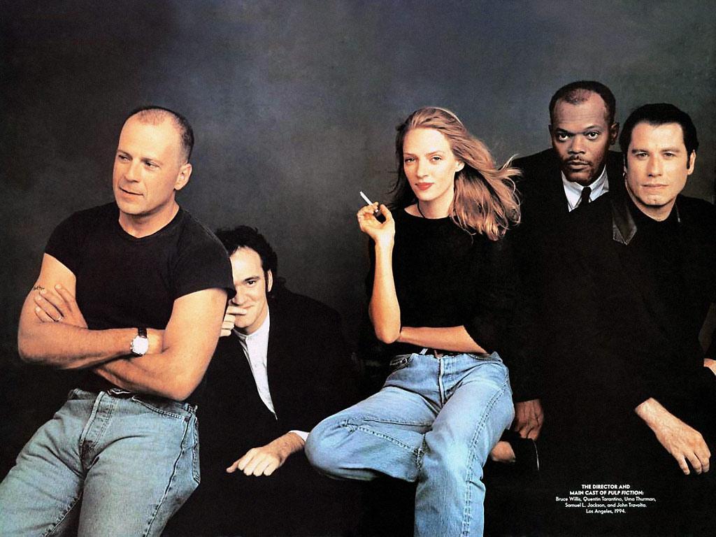 Willis, Tarantino, Thurman, Jackson, Travolta