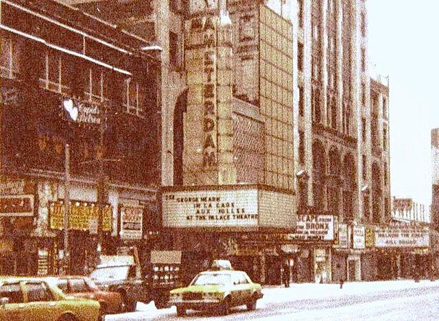 New Amsterdam Theatre-1985-před renovací 42nd Street