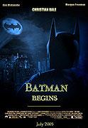 Poster k filmu        Batman začíná