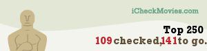 pepek25's iCheckMovies.com Top 250 widget