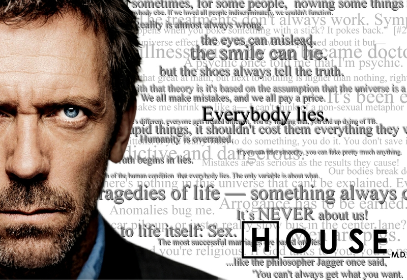 Dr. Gregory House (Hugh Laurie | House M.D.)